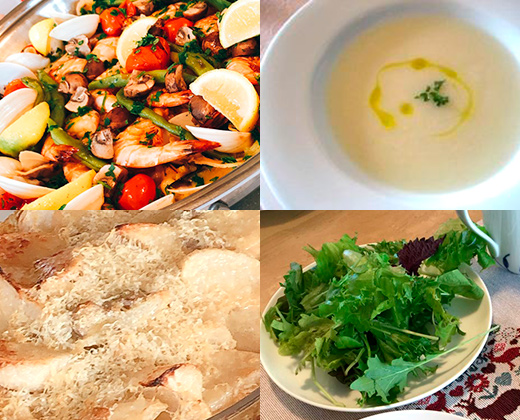 【残席僅か】12/1日:簡単おうちイタリアン/季節のお野菜を使ってイタリア料理