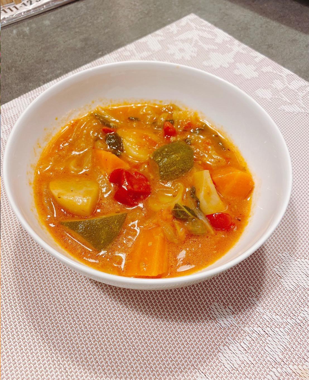 11月のお料理メニュー:イタリアの煮込み料理「チャンボッタ」