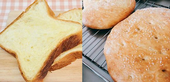 【わが家の自慢メニューに】4/24日:簡単フォカッチャ/デニッシュ食パン