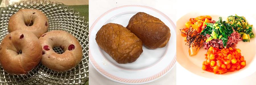 【夏にオススメ】7/5日・11日:ベーグルアラカルト/塩バターロール/野菜スパイスカレー