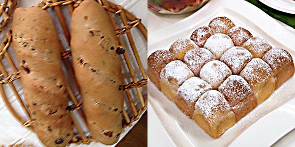 【2品が新登場】10月18日:シナモンフルーツブレッド/紅白ちぎりパン
