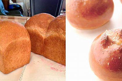 食パン&チーズパン